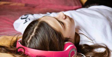 Hörbuch Französisch lernen Kopfhörer