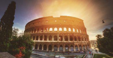 Italienisch lernen Kolosseum