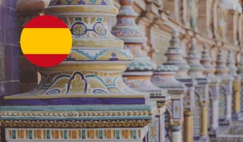 Spanisch Sprachdusche Säulen