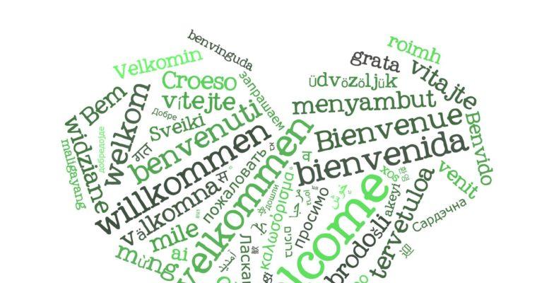 Sprachen lernen Herz
