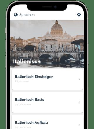 Jicki App Italienisch lernen