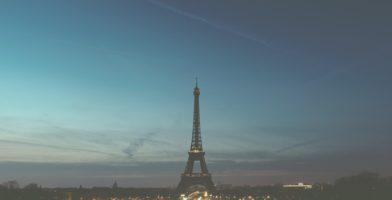 Eiffelturm Französisch lernen schwer