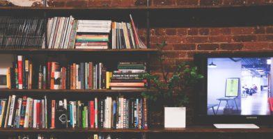 Griechische Vokabeln lernen Bücherregal